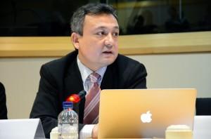 WUC-UNPO Nuclear Conference Dolkun Isa